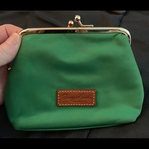 Dooney & Bourke. Cute green clutch/wallet!